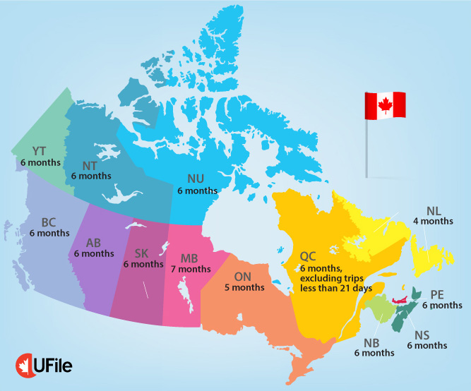 UFile - Canada map